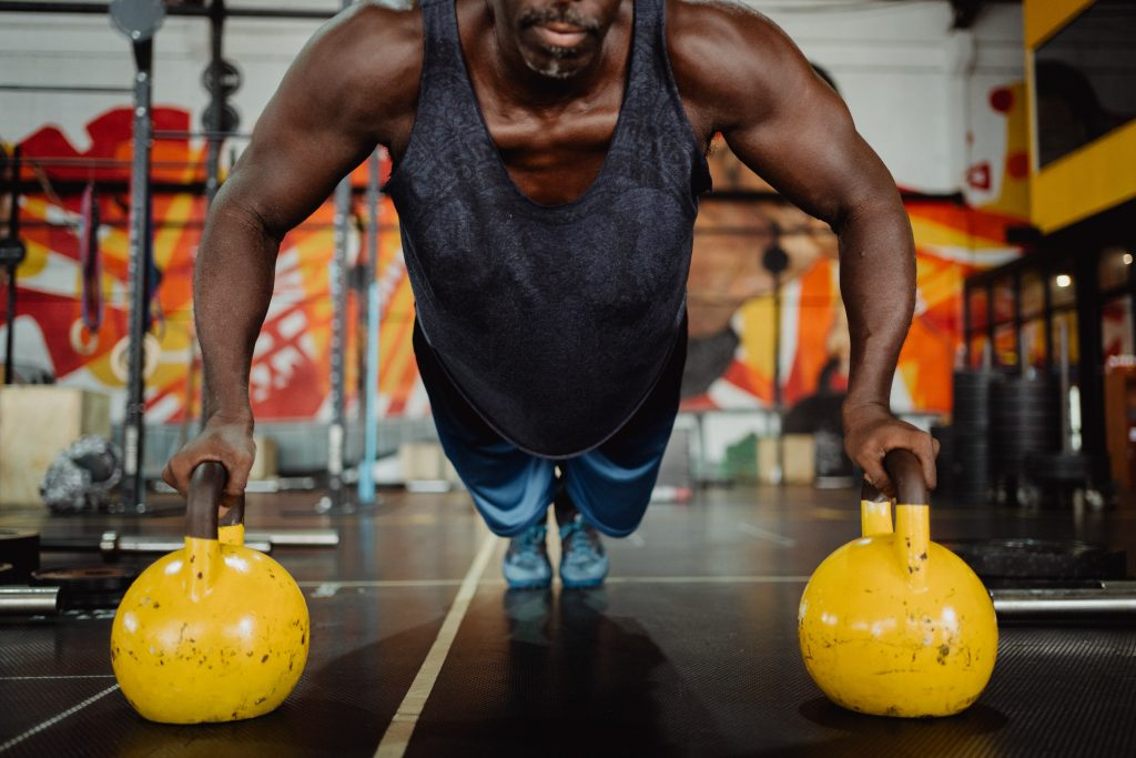 full body Kettlebell workout
